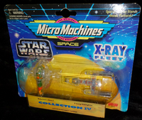 Micro Machines Space: Star Wars X-Ray Fleet: Collection IV: Boba Fett's Slave I & Y-Wing Starfighter